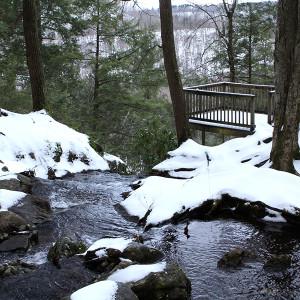 Buttermilk Falls in December