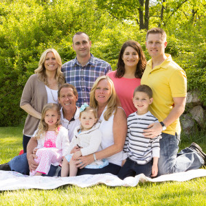 Family Portraits at The Botanical Gardens in NJ