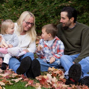 Fall Themed Family Photoshoot at the NJ Botanical Gardens