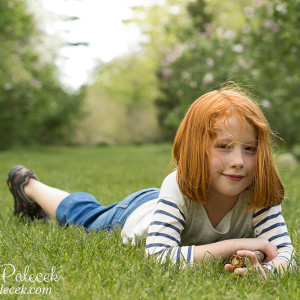 Child Portraits at the NJ Botanical Gardens {New Jersey Child Photographer}