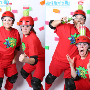 BACK TO THE 80's - Photo Booth at Flowerland in Caldwell, NJ
