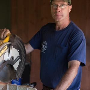 Business Portraits on the job site of Paul Palecek Custom Builder {{NJ Professional Business Portrait Photographer}}