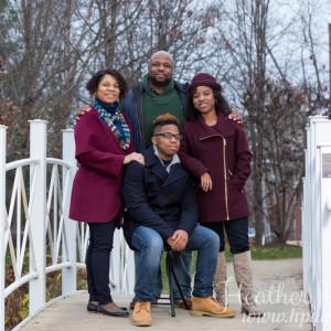 Family Portrait Photography at Sayan Gardens in Hamilton, NJ