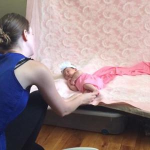 An Insiders Peek at a Studio Newborn Session