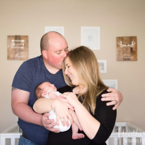 At-Home Lifestyle Newborn Session {Hamilton, NJ Newborn Photographer}