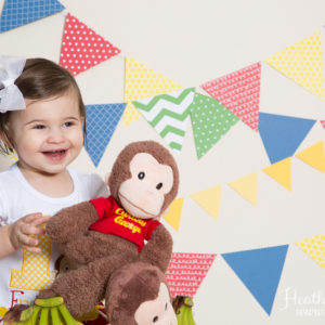 Curious George Themed 1st Birthday Session {Hamilton, NJ Photographer}