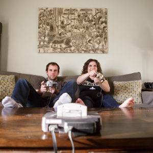 Game Themed Pregnancy Announcement {Hamilton, NJ Photographer}
