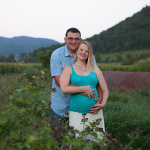 Rivers + Mountains Outdoor Maternity Session West Rupert, VT {Granville, NY Portrait Photographer}
