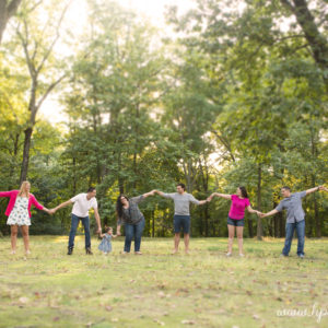 All-the-Cousins Portrait Session at Saddle Brook Park {NJ Family Photographer}