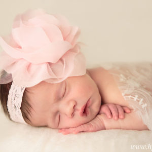Newborn Girl Studio Photography {Hamilton, NJ Photographer}