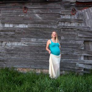 Maternity Session at Barn in Rupert, VT {Granville, NY Portrait Photographer}