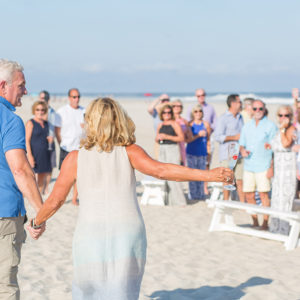 Surprise Vow Renewal in LBI, NJ