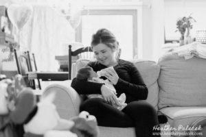 Lifestyle Newborn Photos {NJ Photographer}