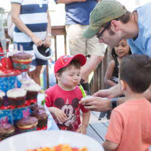 Backyard Birthday Party, Ewing NJ Photographer