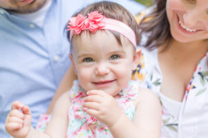 Outdoors First Birthday Photo Shoot {Ewing, NJ Photographer}