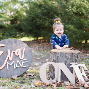 Outdoors 1st Birthday Photos