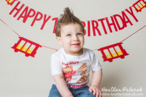 1st Birthday Portraits and Cake Smash {Ewing, NJ Photographer}