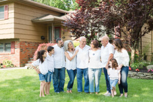 Extended Family Photos at home in Paramus {Ewing, NJ Photographer}