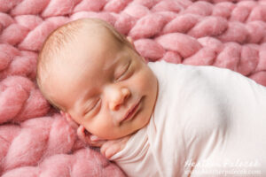 Newborn Girl Portrait Session {Ewing, NJ Photographer}