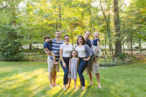 Outdoor Family Portraits, Bergen County New Jersey