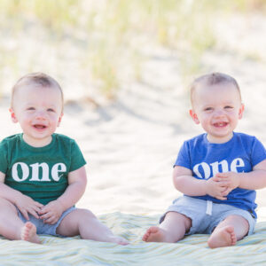 One Year Old Portrait Session at the NJ Shore {Ewing, NJ Photographer}