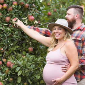 Apple Orchard Maternity Session