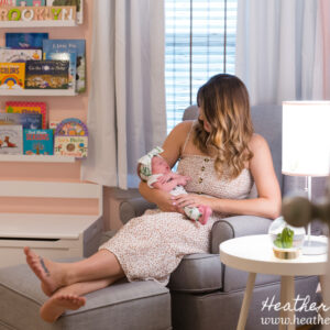 Newborn girl lifestyle session {Ewing, NJ Photographer}